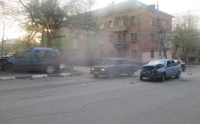 В Туле в ДТП пострадал ребенок