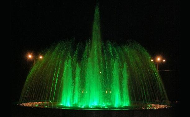 В Центральном парке Тулы запустили фонтан