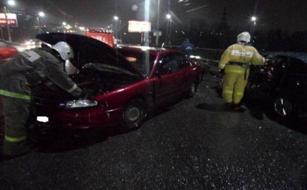 В тройном ДТП в Туле пострадали три человека