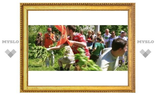 Под Тулой проходит праздник крапивы