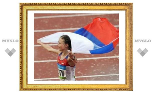 Российская легкоатлетка выиграла золото Олимпиады