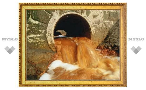 В Тульской области не очищаются сточные воды