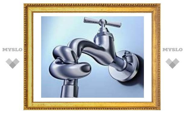 Где в Туле отключат воду