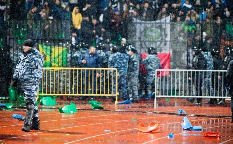 Полиция возбудила уголовное дело по факту массовой драки на матче «Арсенал» - «Торпедо»
