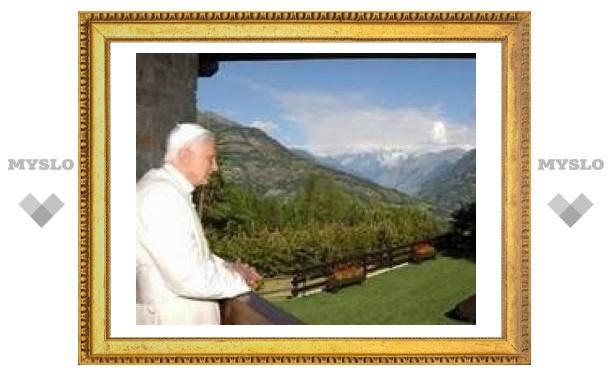 Книга Папы Римского о теории эволюции опубликована на немецком языке