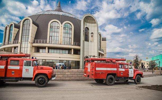 Тульские пожарные провели учения в Музее оружия
