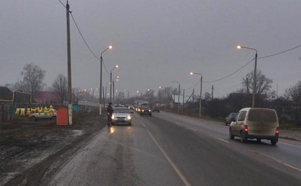 В правительстве отметили снижение аварийности на тульском участке трассы М2