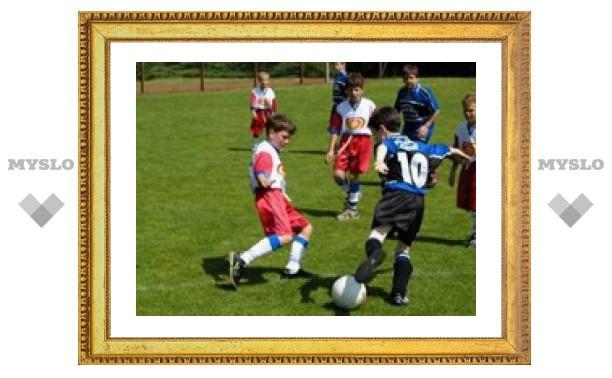 Тульские футболисты снова первые