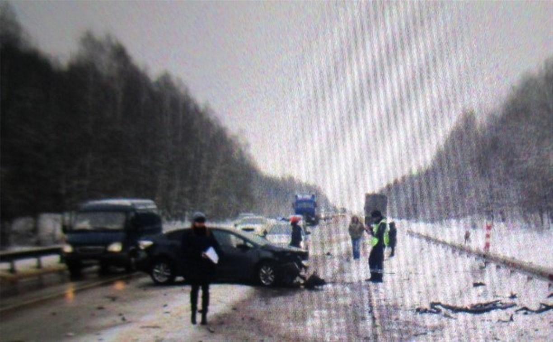 В аварии на трассе М2 погиб мужчина
