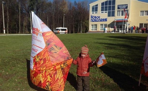 В Пролетарском районе Тулы уже ждут олимпийский огонь