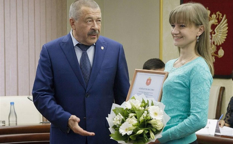 Талантливой молодежи Тульской области не выплатили премии правительства