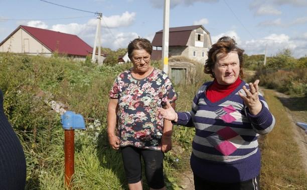 Жители тульской деревни Нижние Присады: «У нас в кране вода из скотомогильника?»