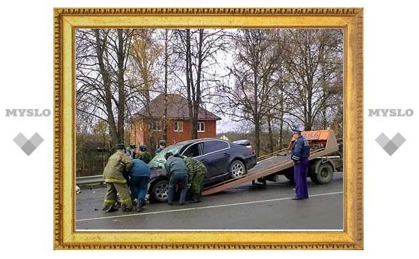 В аварии под Тулой погиб водитель