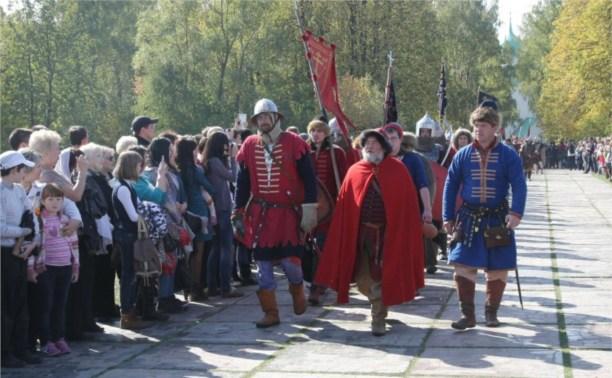 На Куликовом поле началось празднование годовщины Куликовской битвы