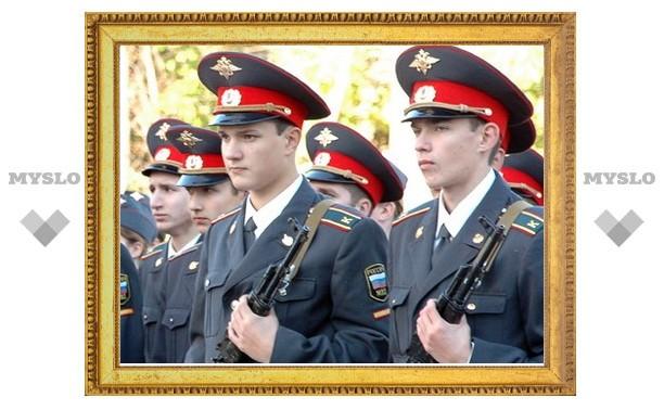 В Туле полицейские приняли присягу