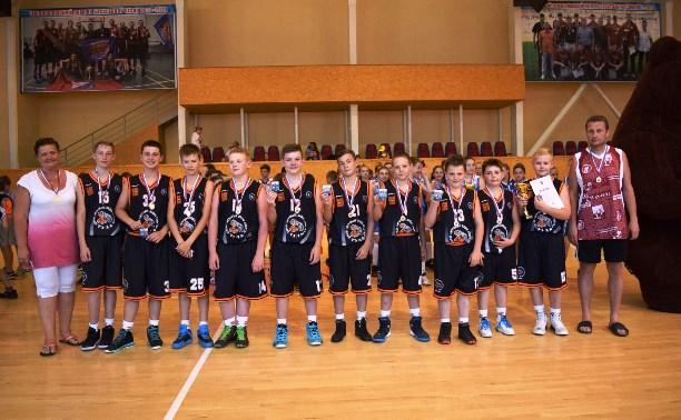 Туляки стали победителями Всероссийского фестиваля по мини-баскетболу