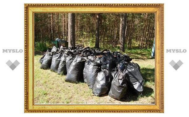 "Тульская молодежь собрала ""КамАЗ"" мусора"