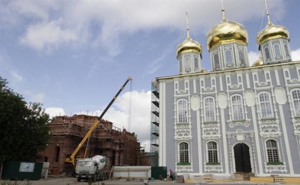 Колокола для колокольни Успенского собора уже отправлены в Тулу