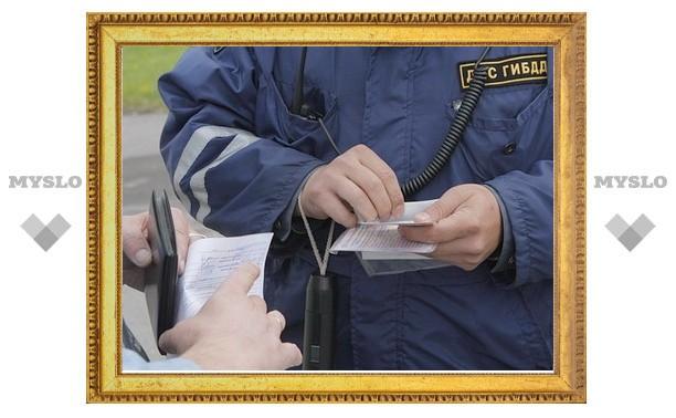 В Туле гаишника подозревают в получении взятки