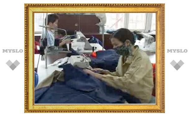 В Туле закрыт подпольный швейный цех