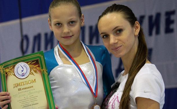 Тульская гимнастка отличилась на «Черноморской чайке»