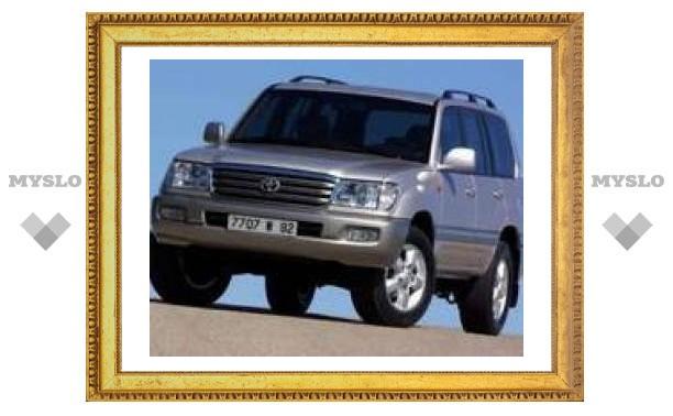 Toyota Land Cruiser – любимая жертва автоугонщиков
