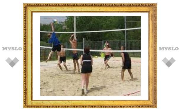 Пляжный волейбол в Туле