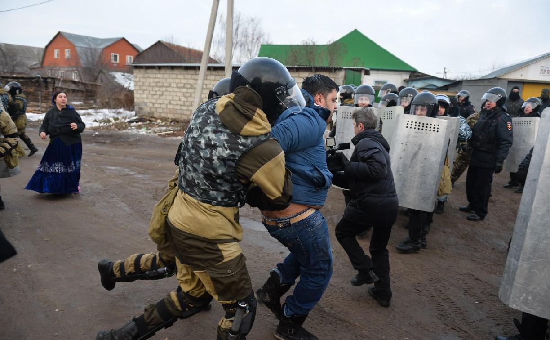 Спецоперация в Плеханово: Фоторепортаж с места событий