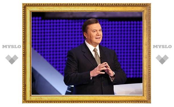 Янукович присоединит Украину к Таможенному союзу