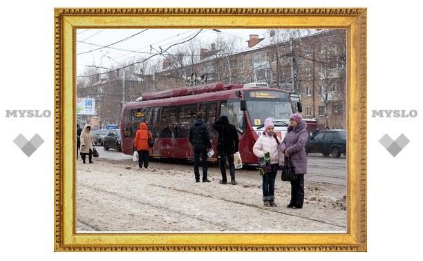 В Туле выйдут на маршруты низкопольные автобусы