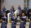 Тульские школьники побывали на церемонии развода караулов в Московском Кремле