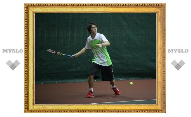 Четверо тульских теннисистов вышли в областной полуфинал