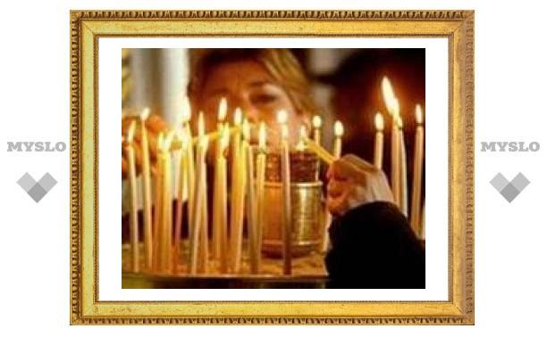 У православных Тулы началась Страстная неделя