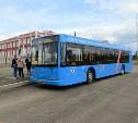 В Туле на маршрут вышли московские автобусы