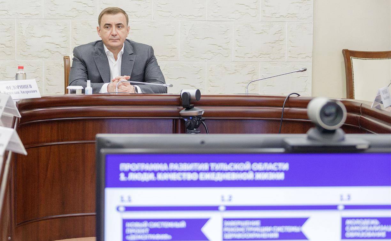 В Туле обсудили подготовку проекта Программы развития области до 2026 года