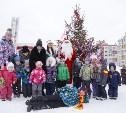 Новый год в Петровском квартале: ёлка, Дед Мороз, подарки!