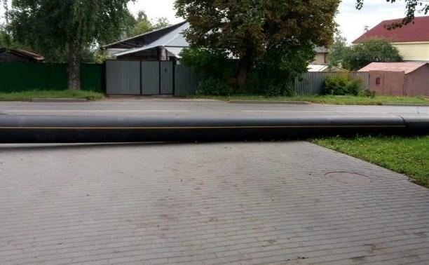 «Тулагоргаз» освободит выезд для жителей домов на ул. Железняка