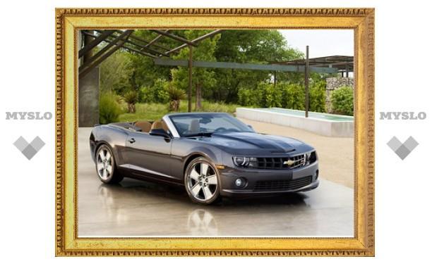 Первая партия кабриолетов Chevrolet Camaro была распродана за три минуты