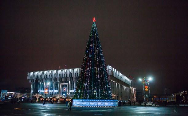 Главную ёлку Тулы откроет Дед Мороз из Великого Устюга