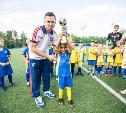 Юные тульские футболисты стали лучшими в Калуге