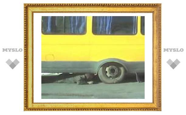 """Тульская """"ГАЗель""""едва не осталась без колес"""