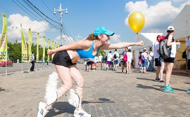 Тулячки приняли участие во Всероссийском марафоне «Беги за мной»