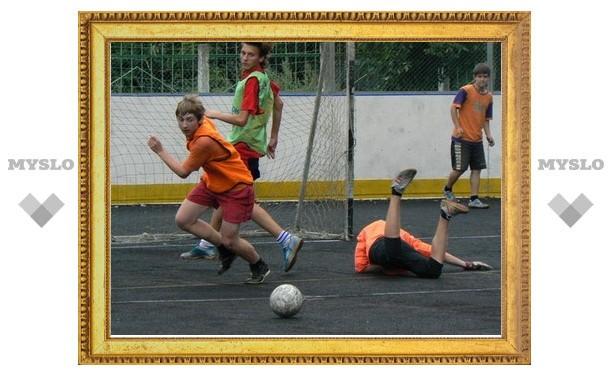В Алексине пройдет турнир по дворовому футболу