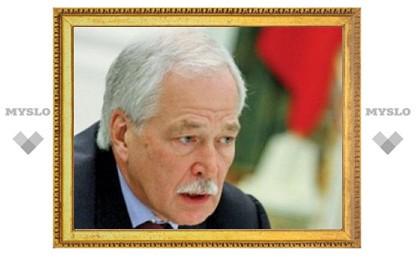 Борис Грызлов проголосовал в Тульской области