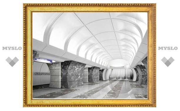 На строящейся станции столичного метро случился обвал