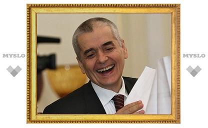 Онищенко посоветовал тулякам не целоваться в Прощеное воскресенье