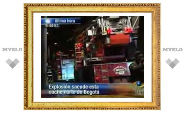 В столице Колумбии произошел взрыв