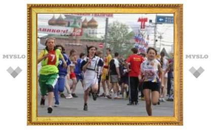 В Туле стартовал спортивный марафон
