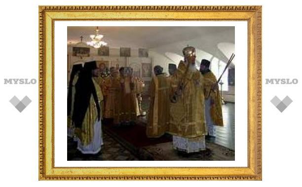 Под Тулой прошла литургия