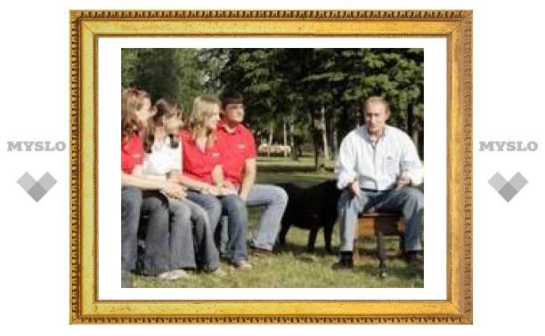 Тулячка о встрече с Путиным